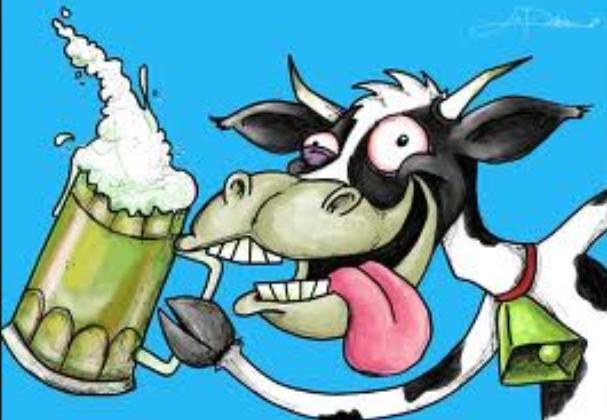 vaca cerveza